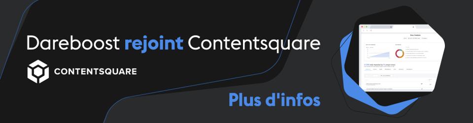 Dareboost rejoint Contentsquare