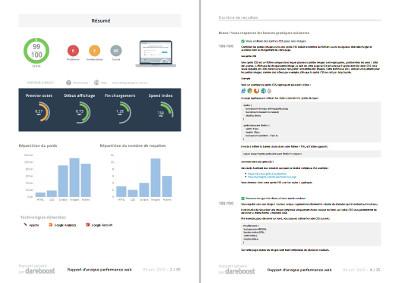Export de l'analyse de site au format PDF