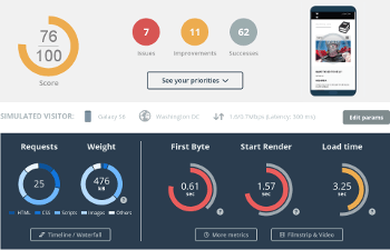 Website Speed Test and Website Analysis – Free test | Dareboost