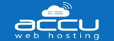 Accuweb hosting logo